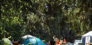 De bästa tälten för camping semestern